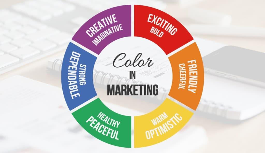 روانشناسی رنگ ها در بازاریابی و فروش