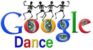 الگوریتم رقص گوگل یا گوگل دنس