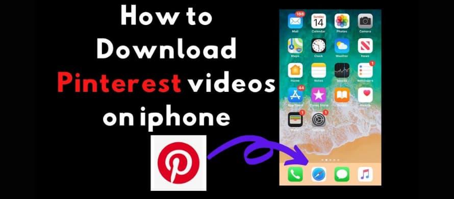 بهترین نرم افزارهای دانلود ویدئو از پینترست برای آیفون IOS